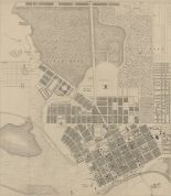map of melbourne 1855