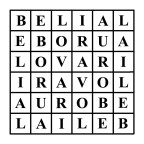 abramelin square of belial